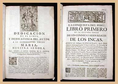El Inca Garcilaso de la Vega y sus Comentarios Reales