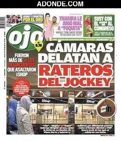 Portada de Diario Ojo