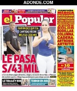 Portada de Diario El Popular
