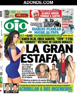 Portada de Diario Ajá