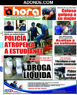 Diario Ahora de Jaén Amazonas