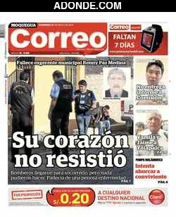 Diario Correo de Moquegua