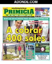 Diario Primicia de Huánuco