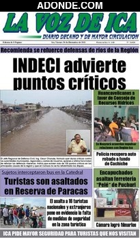 Diario La Voz de Ica