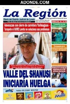Diario La Región de Loreto