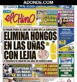 Portada de Diario El Chino