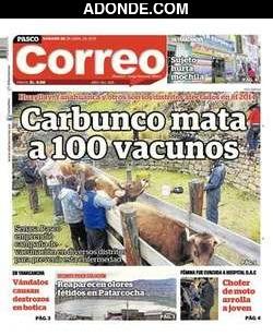 Diario Correo de Pasco