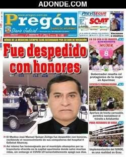 Diario Pregón de Apurímac