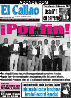 Diario El Callao de EL CALLAO