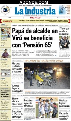 Diario satelite trujillo peru hoy