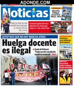 Diario Noticias de AREQUIPA