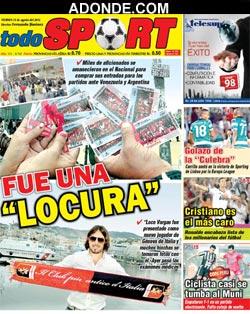 Diario EL DEPORTE TODO