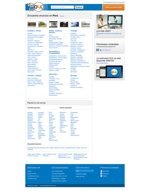 Avisos clasificados for Anuncios clasificados gratis