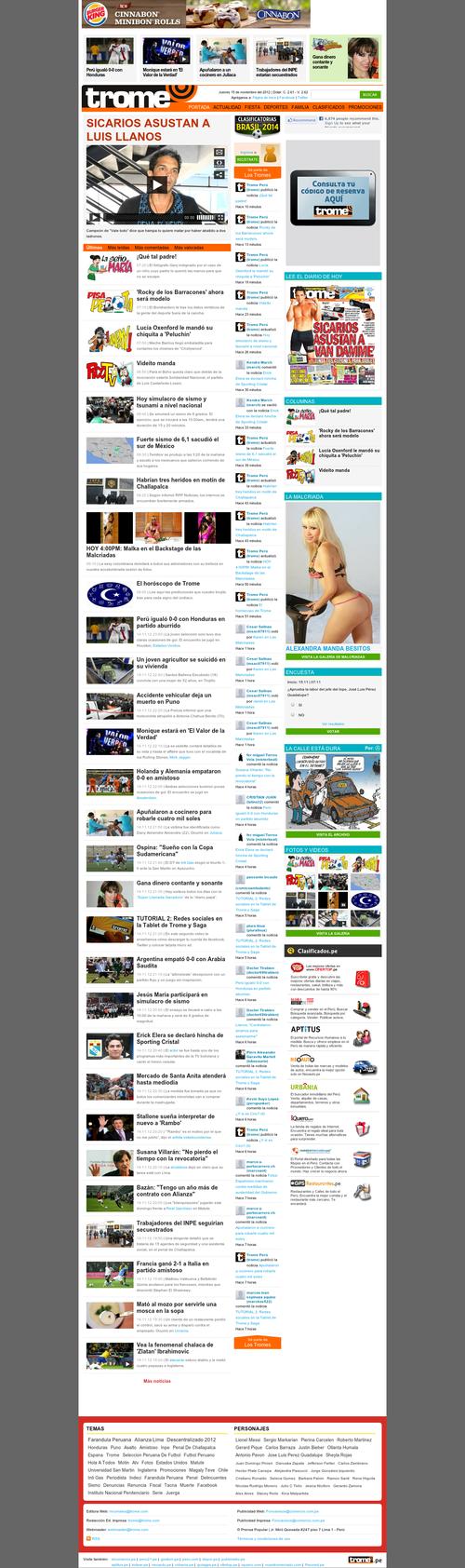 Tromepe Diarios Lima Perú